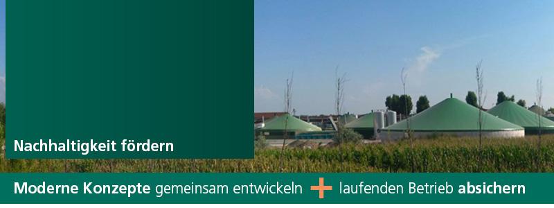 Versicherung von Biogas-Anlagen und erneuerbaren Energien