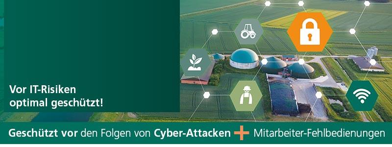 Die Cyber-Versicherung schützt vor den Folgen von Cyber-Attacken und Mitarbeiter-Fehlbedienungen